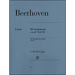 G. Henle Verlag 32 Variations C Minor WoO 80 By Beethoven (51480061)