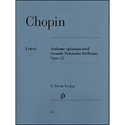 G. Henle Verlag Andante Spianato And Grande Polonaise Brillante E Flat Major Opus 22 By Chopin (51480631)