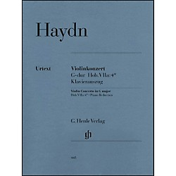 G. Henle Verlag Concerto For Violin And Orchestra in G Major Hob VIIa:4 By Haydn (51480448)