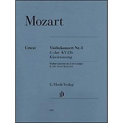 G. Henle Verlag Concerto No. 3 in G Major K216 By Mozart (51480688)