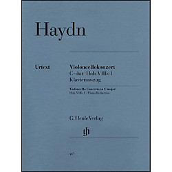 G. Henle Verlag Concerto for Violoncello and Orchestra C Major Hob.VIIb:1 By Haydn (51480417)