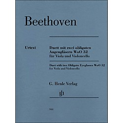 G. Henle Verlag Duet With Two Obligato Eyeglasses Woo32 For Viola And Violoncello By Beethoven / Platen (51480944)