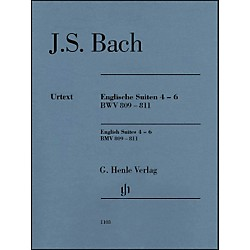 G. Henle Verlag English Suites 4-6 BWV 809-811 By Bach (51481103)