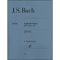 G. Henle Verlag English Suites BWV 806-811 By Bach (51480100)