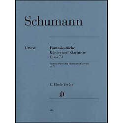 G. Henle Verlag Fantasy Pieces For Piano And Clarinet (Or Violin Or Violoncello) Opus 73 By Schumann (51480416)