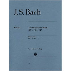 G. Henle Verlag French Suites BWV 812-817 By Bach / Steglich (51480071)