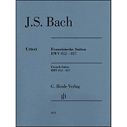 G. Henle Verlag French Suites BWV 812-817 Without Fingering By Bach / Steglich (51481071)