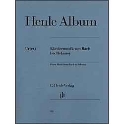 G. Henle Verlag Henle Album - Piano Music From Bach To Debussy (51480951)