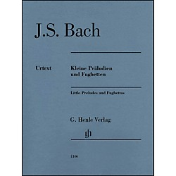 G. Henle Verlag Little Preludes And Fughettas Without Fingering By Bach / Steglich (51481106)