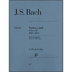 G. Henle Verlag Partita For Flute Solo In A Minor, BWV 1013 By Bach (51480457)