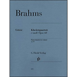 G. Henle Verlag Piano Quartet C Minor Op. 60 By Brahms (51480285)