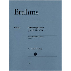 G. Henle Verlag Piano Quartet G minor Op. 25 By Brahms (51480197)