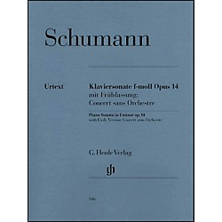 G. Henle Verlag Piano Sonata In F Minor Op. 14 By Schumann (51480346)