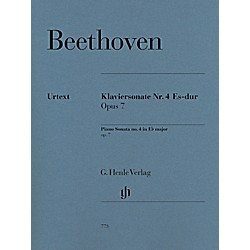 G. Henle Verlag Piano Sonata No. 4 in E-Flat Major, Op. 7 by Beethoven - Henle Urtext Edition (51480773)