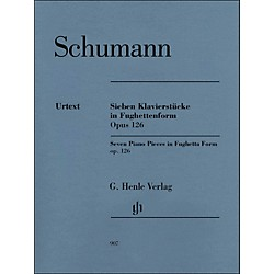 G. Henle Verlag Seven Piano Pieces In Fughetta Form Op. 126 By Schumann / Herttrich (51480907)