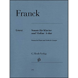 G. Henle Verlag Sonata For Piano And Violin A Major By Franck (51480293)