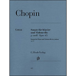 G. Henle Verlag Sonata for Violoncello and Piano G minor Op. 65 By Chopin (51480495)
