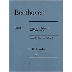 G. Henle Verlag Sonatas For Piano And Violoncello By Beethoven (51480894)