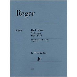 G. Henle Verlag Three Suites for Viola Solo Op. 131D By Reger (51480468)