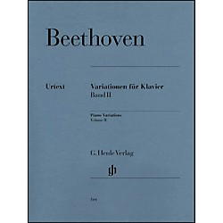 G. Henle Verlag Variations For Piano Volume II By Beethoven (51480144)