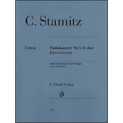 G. Henle Verlag Viola Concerto No. 1 D Major By Stamitz (51480758)
