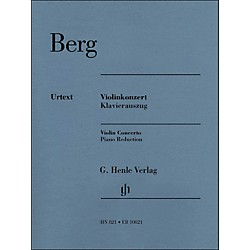 G. Henle Verlag Violin Concerto Piano Reduction By Berg / Kube (51480821)
