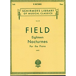 G. Schirmer 18 Nocturnes For The Piano By Field (50252320)
