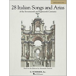 G. Schirmer 28 Italian Songs & Arias Of The 17th And 18th Centuries For Medium High Voice (50485628)