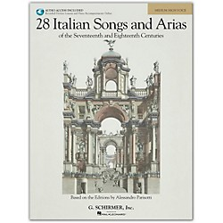 G. Schirmer 28 Italian Songs And Arias For Medium High Book/CD (50485630)