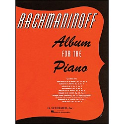 G. Schirmer Album For The Piano By Rachmaninoff (50327300)