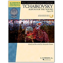G. Schirmer Album For The Young Op. 39 Piano Book/CD By Tchaikovsky / Dossin (296797)