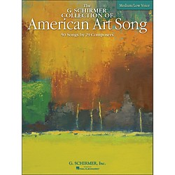 G. Schirmer American Art Song Medium /Low - The G Schirmer Collection (50485069)