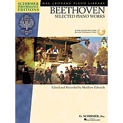 G. Schirmer Beethoven: Selected Piano Works Book/CD Schirmer Performance Edition By Beethoven / Edwards (296590)