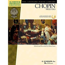 G. Schirmer Chopin Preludes Book/CD - Schirmer Performance Edition By Chopin / Ganz (296523)