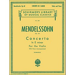 G. Schirmer Concerto E Minor Op 64 Violin Piano By Mendelssohn (50253670)