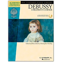 G. Schirmer Debussy - Children's Corner Piano Schirmer Performance Edition Book/CD By Debussy / Harding (296711)