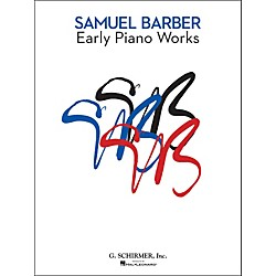 G. Schirmer Early Piano Works By Barber (50490042)