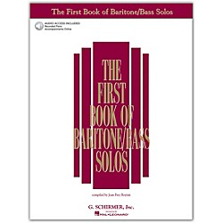 G. Schirmer First Book Of Baritone  /Bass Solos Book/2CD Package (50483784)
