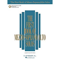 G. Schirmer First Book Of Mezzo-Soprano / Alto Solos Book/2CD Package (50483782)