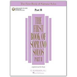 G. Schirmer First Book Of Soprano Solos Part 2 Book/2CD's (50483785)