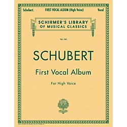 G. Schirmer First Vocal Album For High Voice / Piano (German / English) (50254430)