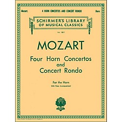 G. Schirmer Four Horn Concertos And Concert Rondo For The Horn With Piano Accompaniment (50261880)