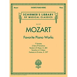 G. Schirmer Mozart  Favorite Piano Works Schirmer's Library of Musical Classics Vol. 2101 (50498599)