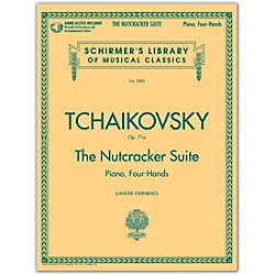 G. Schirmer Nutcracker Suite 1 Piano/ 4 Hands With CD Schirmer Library Book/CD By Tchaikovsky (50489937)