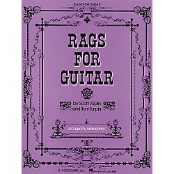 G. Schirmer Rags for Guitar Tab Songbook (50333690)
