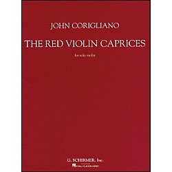 G. Schirmer Red Violin Caprices For Solo Violin From The Motion Picture The Red Violin By Corigliano (50483486)