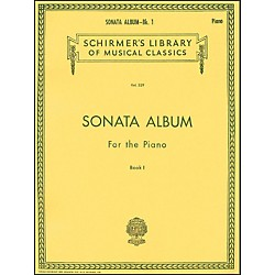 G. Schirmer Sonata Album Book 1 For Piano - 15 Sonatas By Haydn, Mozart And Beethoven (50254340)