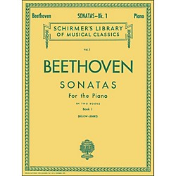 G. Schirmer Sonatas For Piano Book 1 By Beethoven (50251920)