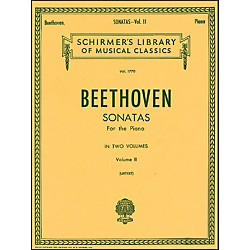 G. Schirmer Sonatas For Piano Volume 2 Urtext By Beethoven (50261570)
