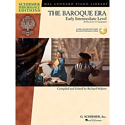 G. Schirmer The Baroque Era - Early Intermediate Level Schirmer Performance Editions Book Online Audio Access (297067)